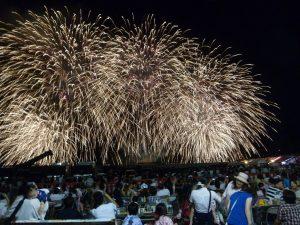 岩国港みなと祭り花火大会