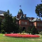赤れんが庁舎と夏の空