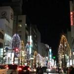 冬の札幌はどこもかしこもキラキラ☆南一条通も綺麗だよ!