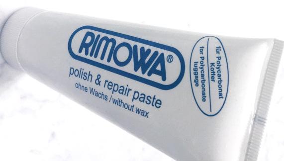 リモワの掃除クリーム