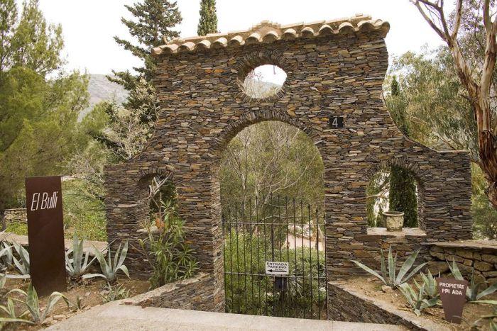 カタルーニャの伝説、エルブジ入り口