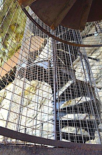 シギリヤロックの螺旋階段画像