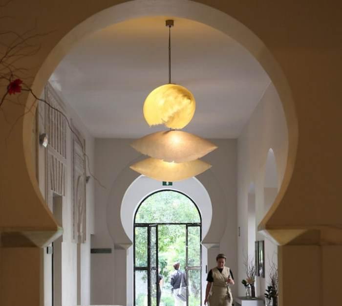 アラブ風の廊下画像