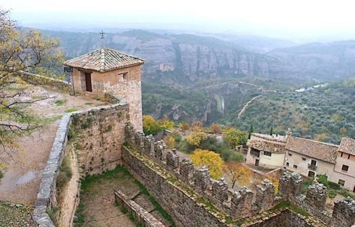 アルケサルの高台からの風景画像