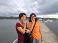 ダバオで、CIPのベトナム人の友人Floraと再会