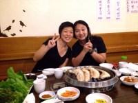 一か月滞在したCIPとももうすぐお別れ…エレン、Natsumiさんとお食事。