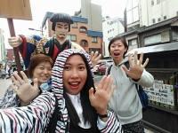 フィリピン留学 IELTSクラスのLyn先生をあやしい英語で東京案内。その2