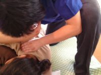 田中鍼灸指圧治療院講習会で学んだ診断按摩と横向きでの施術