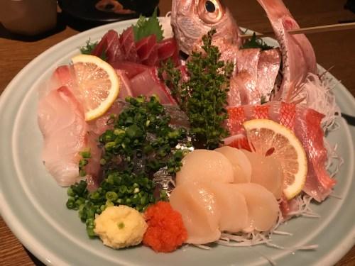 DC3F5172-503A-443E-9B9B-C6E9298DBD0E-500x375 麻布十番 魚可津の海鮮料理