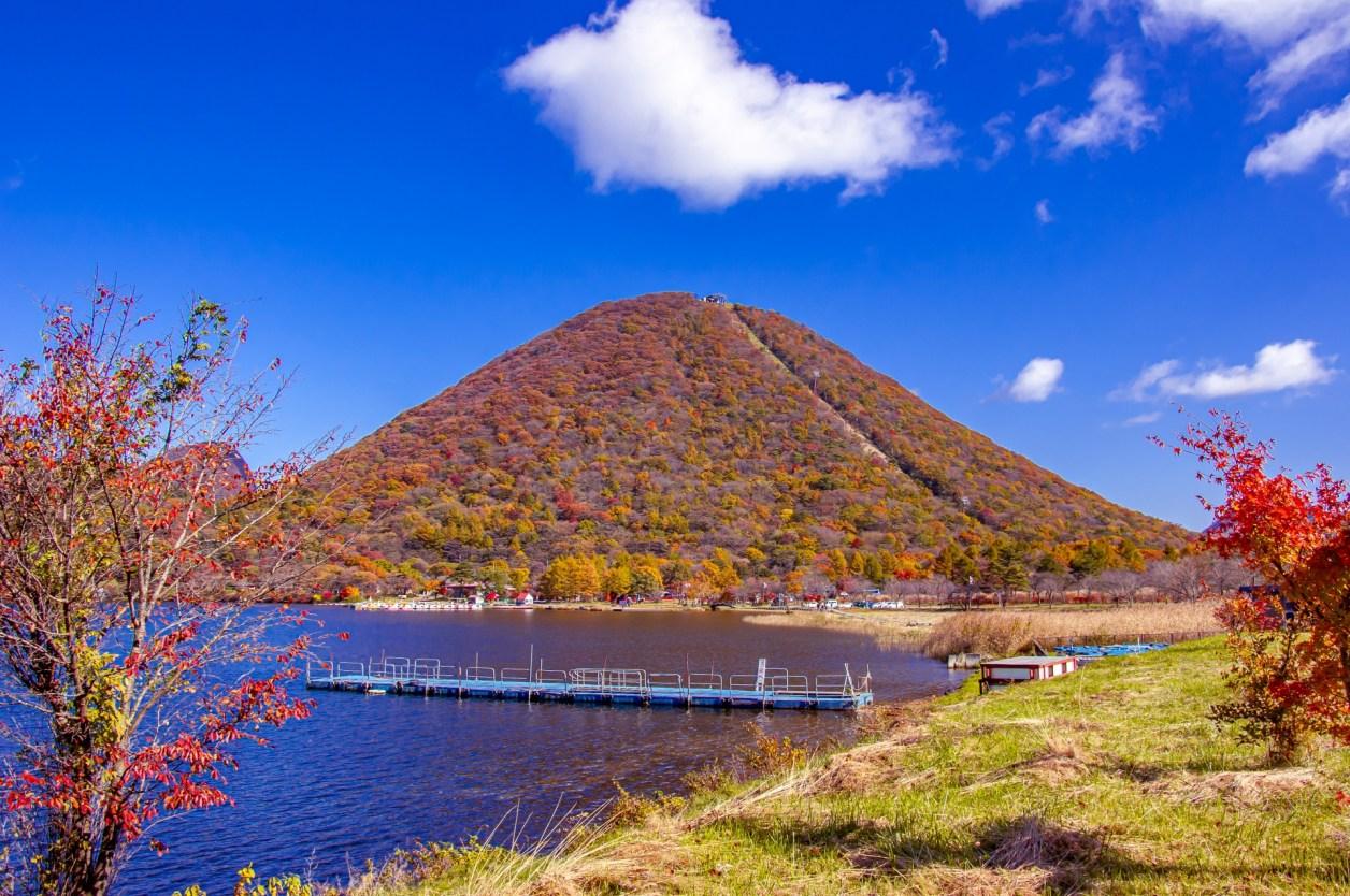 榛名湖 榛名富士 紅葉