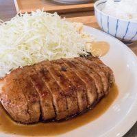 「八角 ハチカク」圧倒的なボリュームで至福の味わい「名物トンテキ定食」