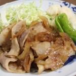 生姜焼き 食事 和食