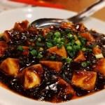 麻婆 中華 辛い 食事