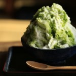 和菓子 かき氷 甘味 抹茶
