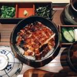 うなぎ 丼もの 食事 和食