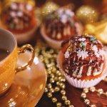ケーキ ドリンク 甘味 クリスマス