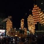祭り 風景 街並み