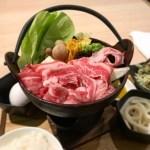 すき焼き お肉 お鍋 食事 和食