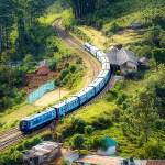 電車 風景 自然