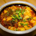 麻婆 中華 食事