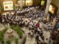 Le hall d'entrée du musée. (Mumbaï)