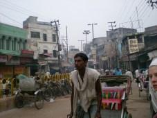 un rickshow (Benares)