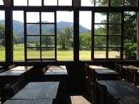 une ancienne salle de cours