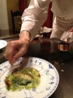 daurade cuite aux algues