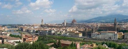 Piazzale Michelangelo*フィレンツェ一望