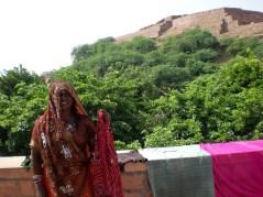 Tout le monde venait se laver: leurs vêtements et eux même. (Jodhpur)