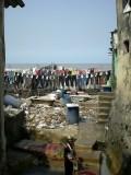 Et les dhobiwallas: tout le quartier vit en faisant la blanchisserie des autres indiens de la ville.
