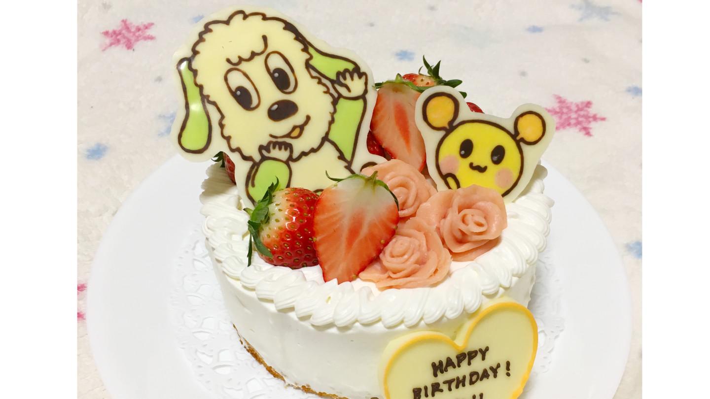 ワンワンとうーたんのキャラチョコ作り!1歳お誕生日ケーキに乗せるだけで赤ちゃん大喜び~