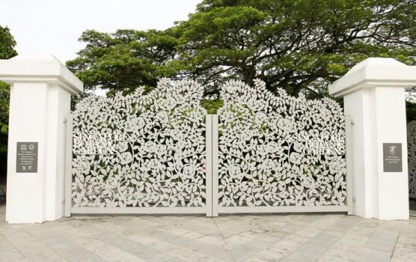 シンガポール植物園の門