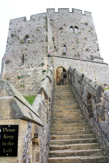 アランデル城 見張り塔