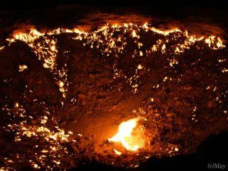 トルクメニスタン 地獄の門 Turkmenistan A Door to the hell