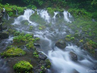 ふきだし公園 北海道 京極町 Fukidashi Park Hokkaido Kyogoku-cho, Yotei Mountain