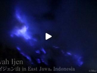【TOP BUZZ】インドネシア カワイジェン山 Indonesia Kawah Ijen Mountain