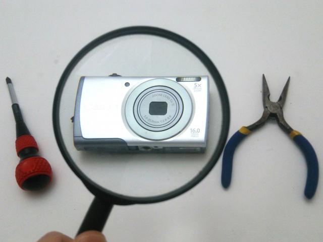 カメラの故障