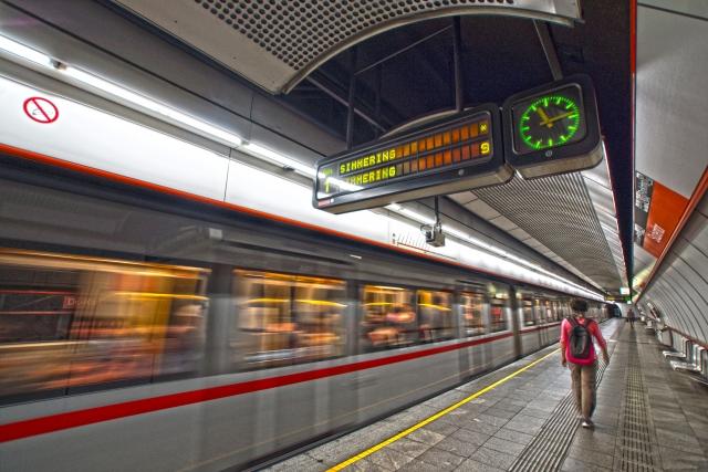 オーストリア ウィーン駅