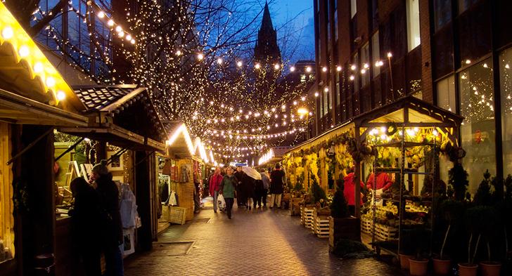 マンチェスター クリスマスマーケット