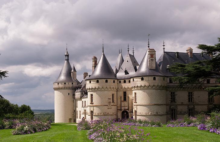 フランス ショーモン・シュル・ロワール城