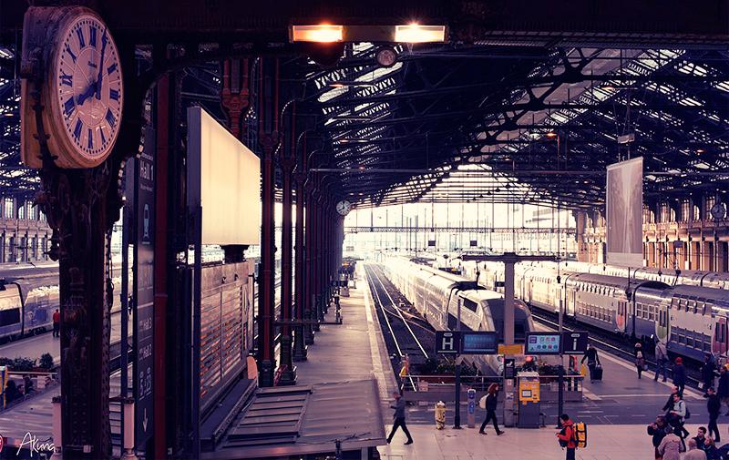 パリ、リヨン駅