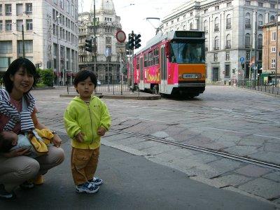ミラノの市電