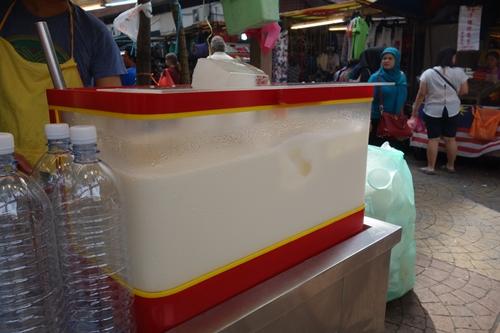 マレーシアのチャイナタウン豆豆腐