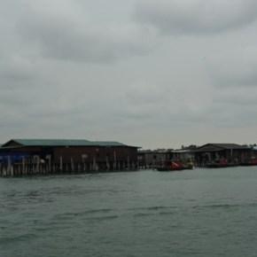 ケタム島 水上集落