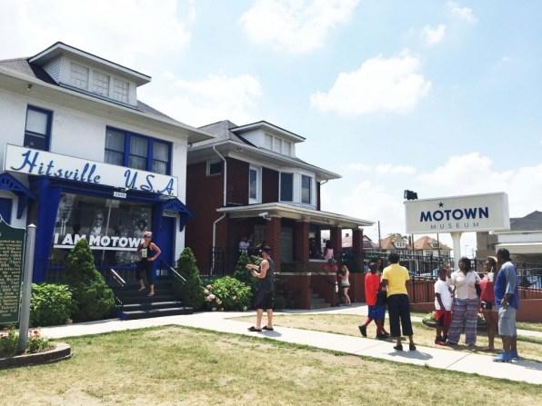 Motownモータウンミュージアム外観