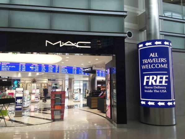 デトロイト空港M.A.C