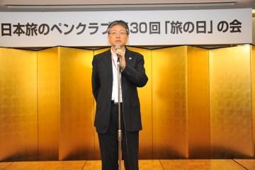 来賓ご挨拶、神戸市みなと総局にぎわい創出担当部長・山川浩司様