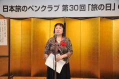 川柳大賞受賞者、伊東慶子さん