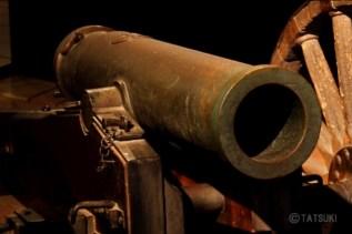 「十文字砲」(じゅうもんじほう) 江戸時代 文久3年(1863)の薩英戦争に使われた